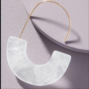 Anthropologie Cressida Hoop Earrings NWT
